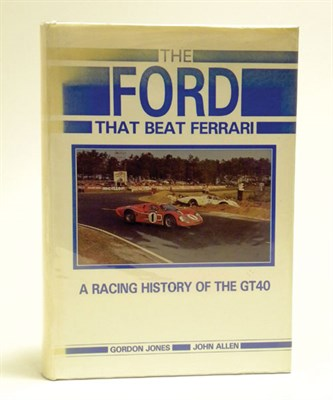 Lot 104 - 'The Ford that Beat Ferrari'