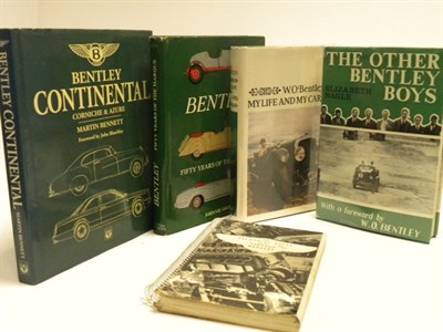 Lot 109 - Five Bentley Books