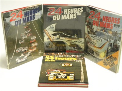Lot 110 - Four 'Le Mans' Yearbooks