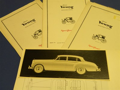 Lot 113 - Five Rolls-Royce Specification Folders
