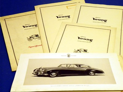 Lot 115 - Five Rolls-Royce / Bentley Specification Folders
