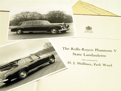 Lot 119 - Rare Rolls-Royce Brochure