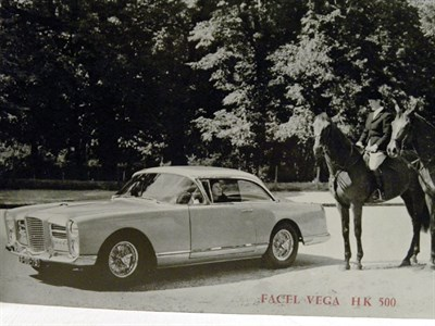 Lot 124 - Facel Vega HK500 Sales Brochure