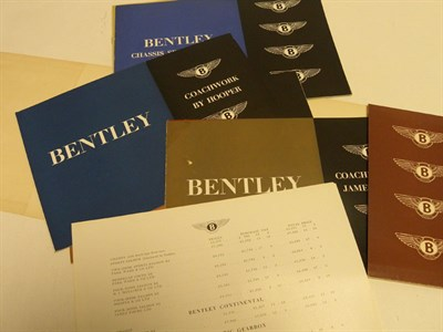 Lot 126 - Bentley Mk VI Sales Folder