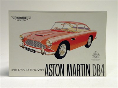 Lot 129 - Three Aston Martin Sales Flyers