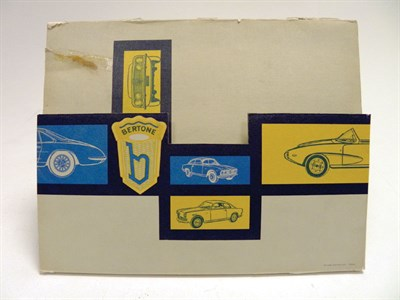 Lot 133 - Alfa Romeo 'Bertone' Sales Folder