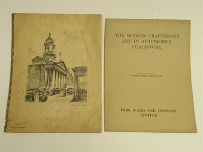 Lot 134 - Two Coachwork Brochures