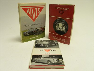 Lot 136 - Three Alvis Books
