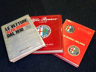 Lot 137 - Three Alfa Romeo Books