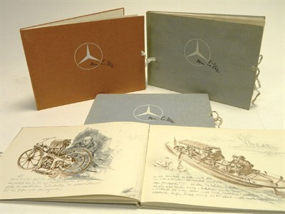 Lot 139 - Four Mercedes Books