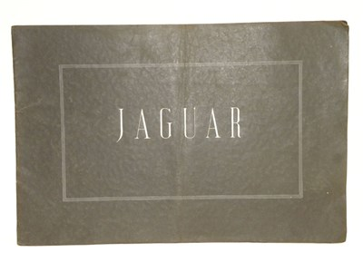 Lot 141 - Jaguar SS Range Brochure