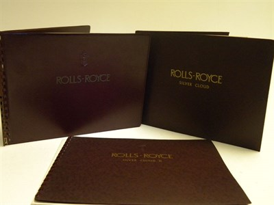 Lot 142 - Four Rolls-Royce Sales Brochures