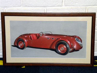 Lot 505 - Healey Silverstone Original Artwork