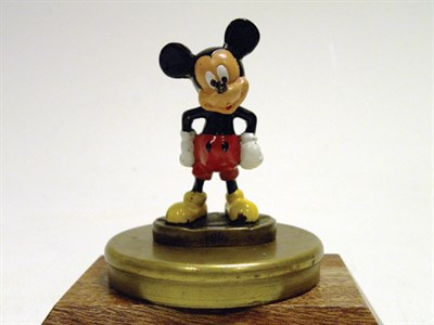 Lot 308 - Mickey Mouse Accessory Mascot