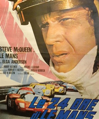 Lot 506 - 'Le Mans' Original Movie Poster