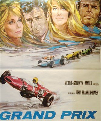 Lot 507 - 'Grand Prix' Movie Poster