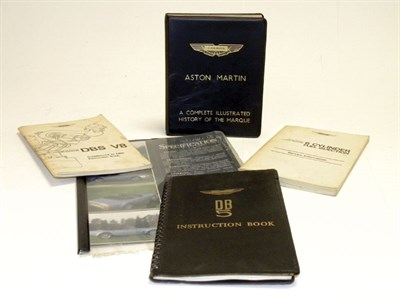 Lot 102 - Aston Martin Ephemera