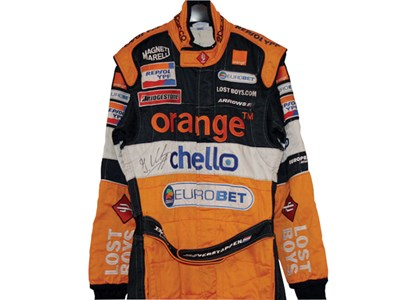 Lot 203 - Jos Verstappen Race Suit