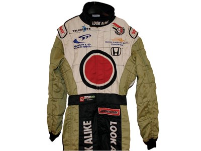 Lot 205 - Ricardo Zonta B.A.R Honda Race Suit