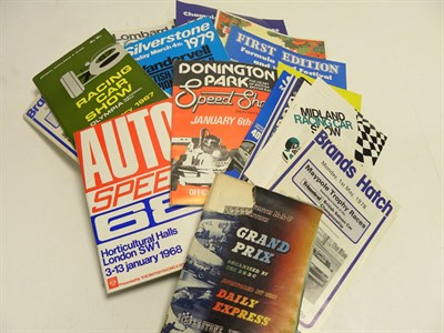 Lot 150 - Quantity of Race Programmes