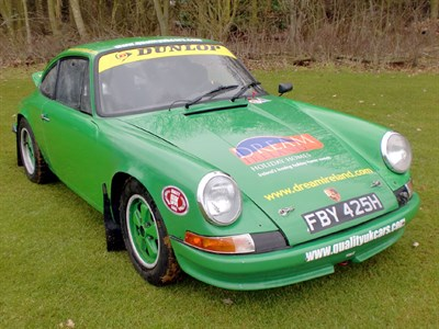Lot 22 - 1969 Porsche 911 Rally Car