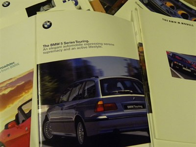Lot 158 - BMW Sales Brochures