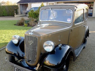 Lot 10-1938 Austin Seven Pearl Cabriolet