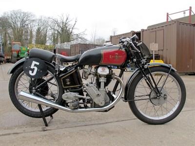 Lot 20-1938 Excelsior Manxman 350