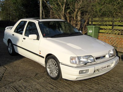 Lot 9-1990 Ford Sierra Sapphire RS Cosworth 4x4