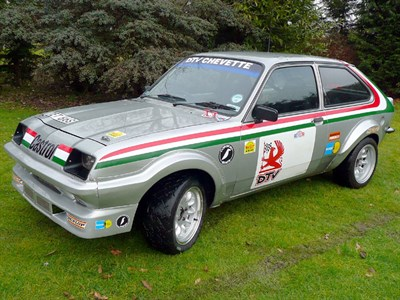 Lot 52 - 1977 Vauxhall Chevette HS