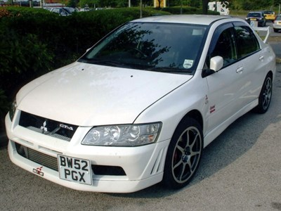 Lot 66 - 2002 Mitsubishi Evolution VII GT-A