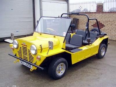 Lot 1-1967 Morris Mini Moke