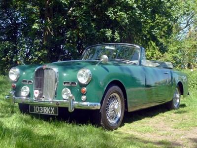 Lot 30 - 1961 Alvis TD21 Drophead Coupe