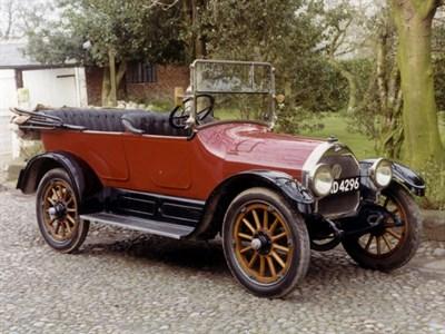 Lot 39-1915 Willys Overland Model 83 Tourer