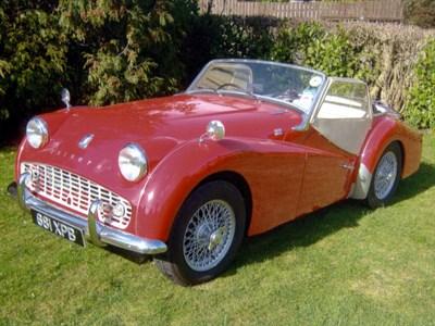 Lot 27-1960 Triumph TR3A