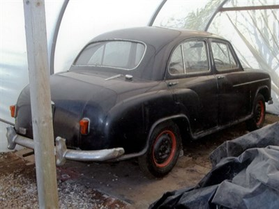 Lot 16-1955 Morris Oxford Saloon