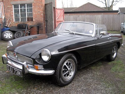 Lot 88 - 1973 MG B Roadster