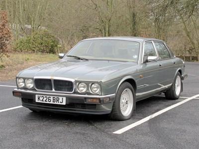 Lot 4-1993 Jaguar XJ12
