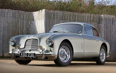 Lot 80-1954 Aston Martin DB2/4 Saloon