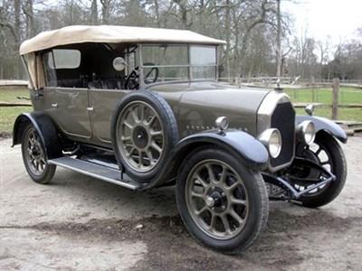 Lot 47-1926 Humber 12/25 Tourer