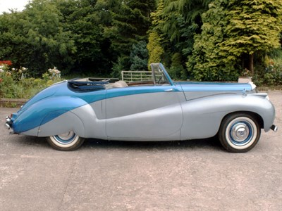 Lot 48-1952 Daimler DB18 Special Sports Drophead Coupe