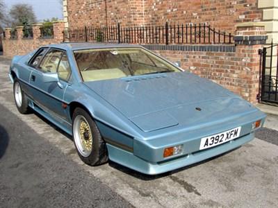 Lot 19-1983 Lotus Turbo Esprit