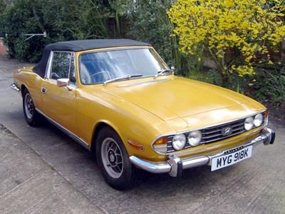 Lot 3-1971 Triumph Stag