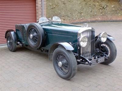 Lot 47 - 1937 Bentley 4.25 Litre Special