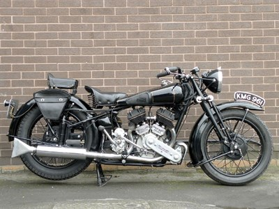 Lot 34 - 1939 Brough Superior SS80