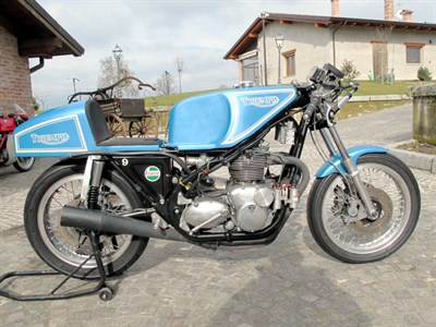 Lot 33 - 1970 Triumph Triple 'High Boy'