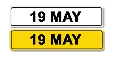 Lot 3-Registration Number 19 MAY