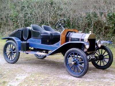 Lot 24-1917 Ford Model T Speedster