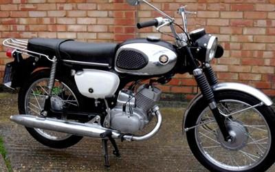 Lot 13 - 1966 Suzuki B100P