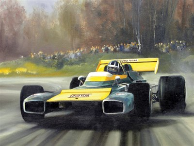 Lot 500-Brabham BT34 Artwork